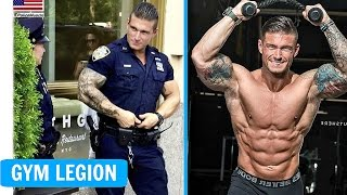 Michael Counihan HOTTEST Police Officer NYPD Workout - Fitness Motivation