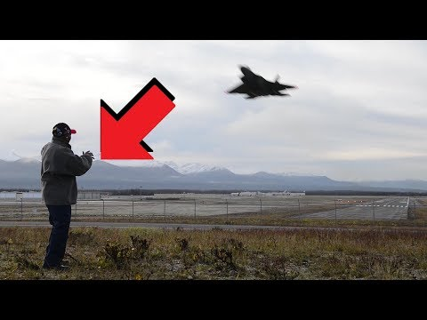 "Tuskegee Airman's reaction to a f-22 fighter jet. ""If you have a problem with the United States, you better make sure it's not a military problem"""