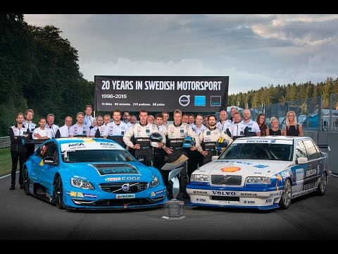 Polestar Cyan Racing claims record-breaking 2015 STCC title
