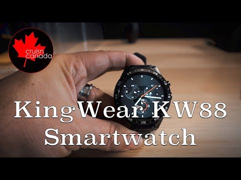 KingWear KW88 Smart Watch | Unboxing and First Look