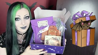 Spooky Box Unboxing - Gothic Garden Box | Toxic Tears