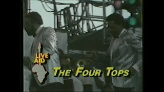The Four Tops - Shake Me, Wake Me, When It's Over (ABC - Live Aid 7/13/1985)