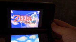 The Legend of Zelda: Phantom Hourglass working ROM for DS on 3DS video