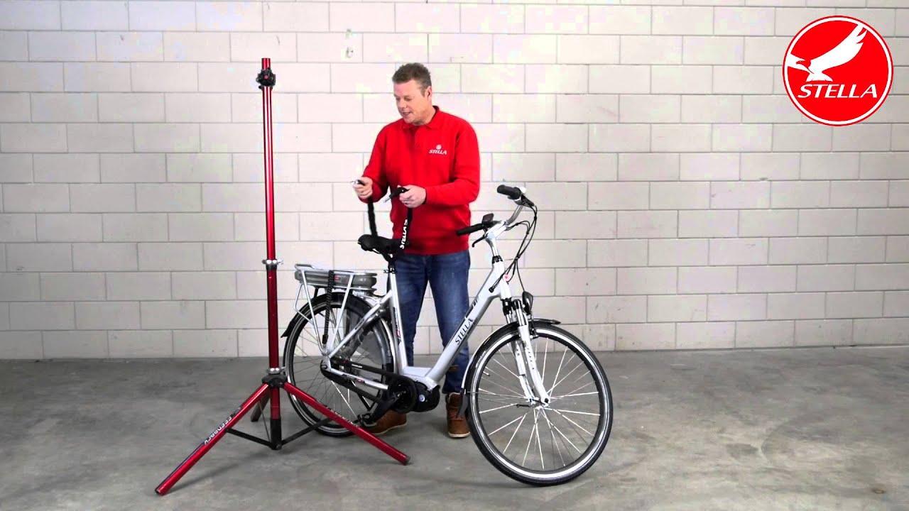 Kettingslot gebruiken elektrische fiets