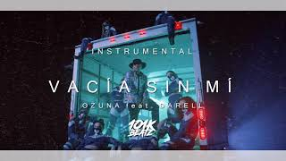 🔥 Ozuna   Vacía Sin Mí Feat. Darell INSTRUMENTALKaraoke (101K Remake) 🔥