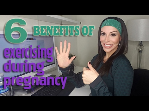 6 BENEFITS TO EXERCISING DURING YOUR PREGNANCY!