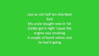 Drive for daddy gene By Alan Jackson ~Lyrics~