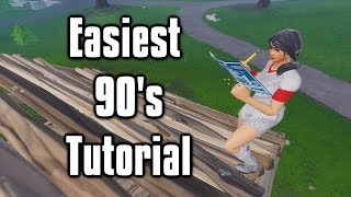 Easiest & Most Consistent 90's Tutorial with Keyboard Cam!