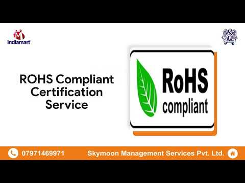 ISO and Product & Compliance Certificate Service Provider - YouTube