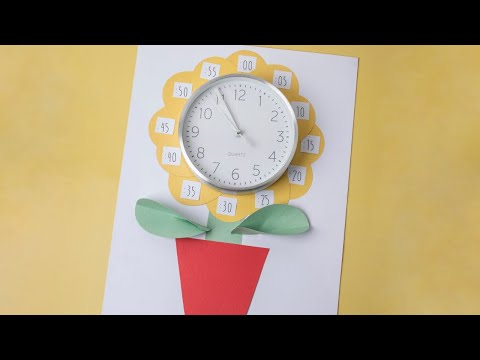DIY Time Telling Aid - Ellison Education