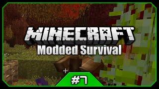 Ghouls, TNT Spawner & Blades Of Death! || Python's Minecraft Modded Survival [Episode 7]