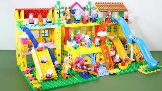 Peppa Pig Lego House With Water Slide Toys For Kids #5