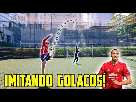 IMITANDO GOLAÇOS!! - ZLATAN IBRAHIMOVIC