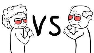 Baba VS Deda Freestyle Battle