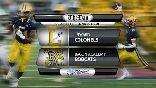 Ledyard at Bacon Academy football