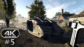 Battlefield 1 4K Gameplay Walkthrough Part 5 - BF1 Campaign 4K 60fps