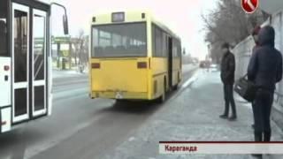 В Караганде хулиган расстреливает пассажирские автобусы