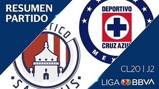 Resumen y Goles | San Luis vs Cruz Azul | Jornada 2 - Clausura 2020 | Liga BBVA MX