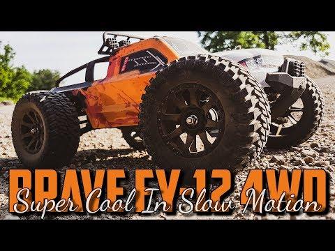 Feiyue Brave FY-12 4WD 1/12 - Super cool in Slow Motion