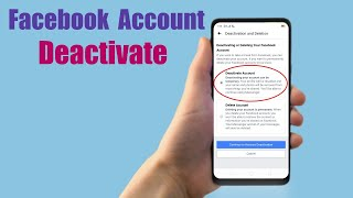 How to Deactivate Facebook Account on Mobile 2017 | Mobile App