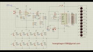 (DIY) VU Meter LM 3915 / 3914 nháy theo nhạc 2 kiểu nháy