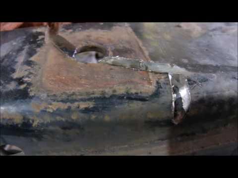 Ремонтируем авто сами ( такого я ещё не делал ) сварка трещин рамы