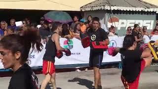 Desfile tradicional en La Paz, BCS