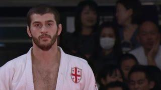 Avtandil Tchrikishvili (GEO) vs. Ki-chun Wang (KOR) -81kg Judo Grand Slam Tokyo 2015