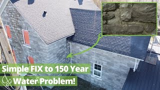 How NOT to Design Your Eavestrough | 1860's Farmhouse Renovation