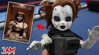 ATTACHING GOPRO TO ANNABELLE AT 3 AM!! (ACTUALLY MOVES)