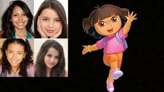 Animated Voice Comparison- Dora The Explorer (Dora The Explorer)
