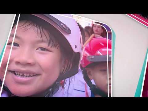 Tuyên truyền vận động, đội mũ bảo hiểm cho trẻ em