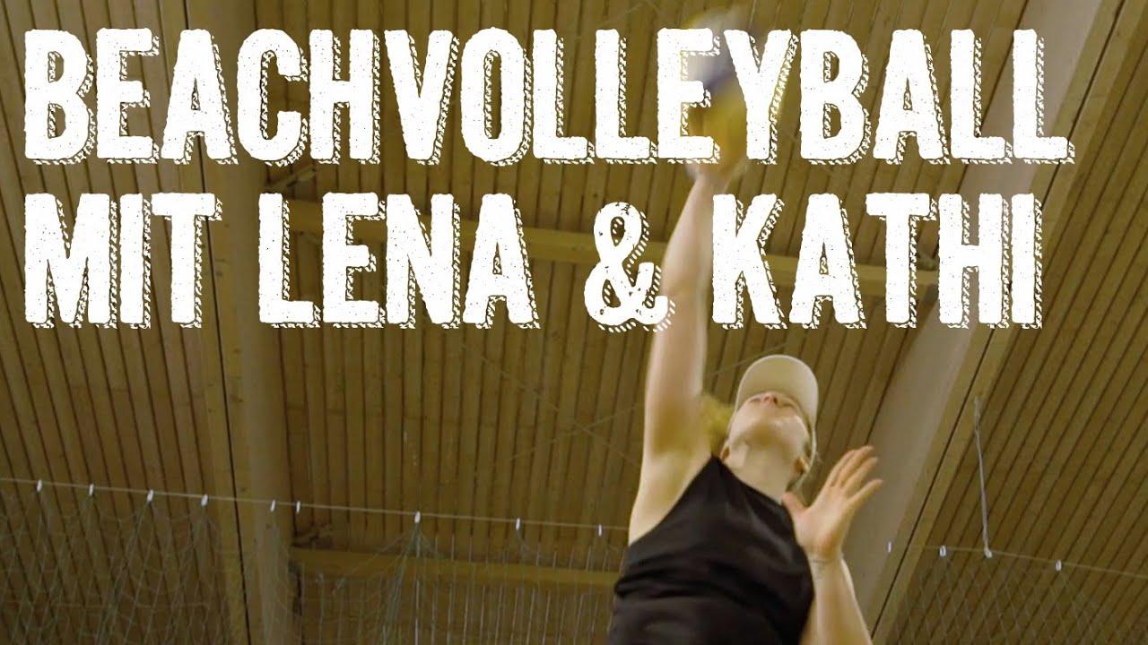 Trainingsalltag der österr. Beachvolleyballerinnen Lena & Kathi | Verival Athleten