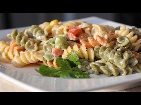 THE ULTIMATE ROTINI PASTA SALAD RECIPE