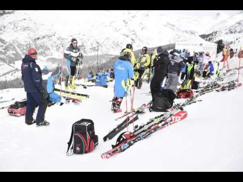 Diaporama Coupe d'europe FIS de Slalom à Val Cenis