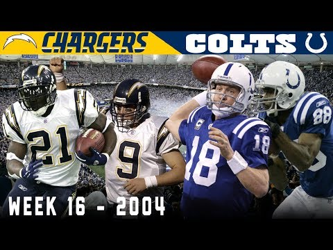 A Record-Setting Day in Indy! (Chargers vs. Colts, 2004)