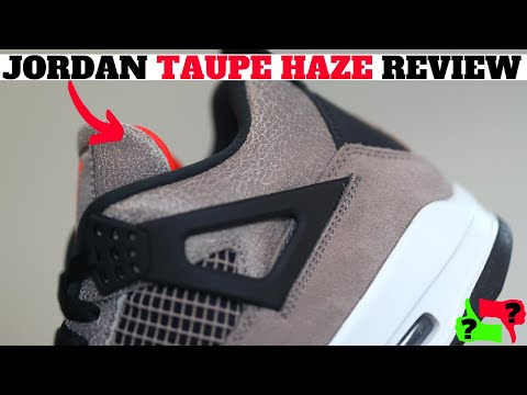 Worth Buying? Air Jordan 4 Taupe Haze Review!