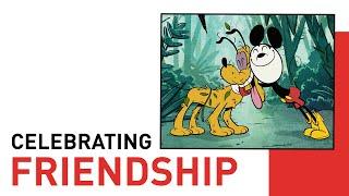 Mickey Mouse Celebrating Friendship   Style of Friendship   Disney Shorts