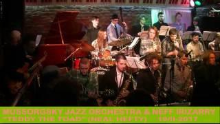 "Mussorgsky Jazz Orchestra & Neff Irizarry - ""Teddy the Toad"" (Neal Hefty)"