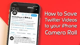 How To Download YouTube Videos To Your iPhone Camera Roll (Save & Watch Youtube Videos OFFLINE)