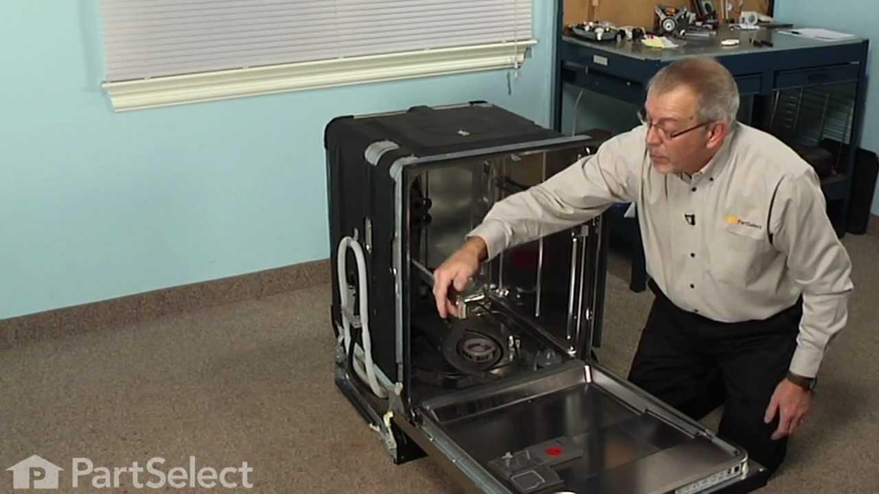 Replacing your KitchenAid Dishwasher Spinner Kit