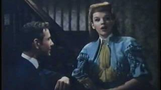 JUDY GARLAND sings 'OVER THE BANISTER' from the film 'MEET ME IN ST. LOUIS'