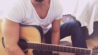 """""""The Godfather"""" müzigi Nasil calinir? Gitar dersi (part1)"""