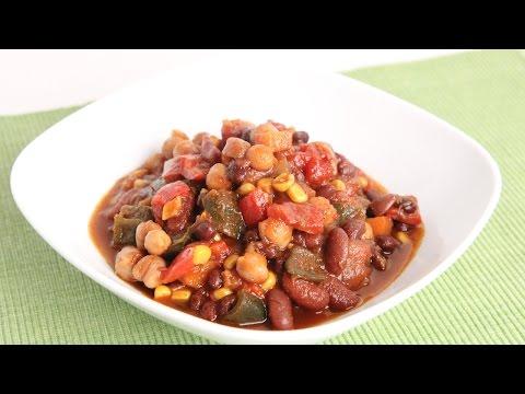 Three Bean Chili Recipe – Laura Vitale – Laura in the Kitchen Episode 978