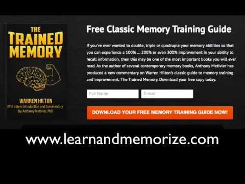 Free Memory Training Guide - YouTube