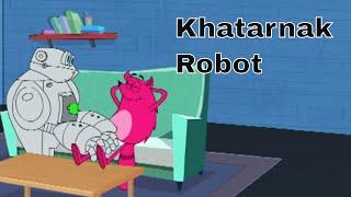 Khatarnak Robot Ep - 54 - Pyaar Mohabbat Happy Lucky - Hindi Animated Cartoon Show - Zee Kids