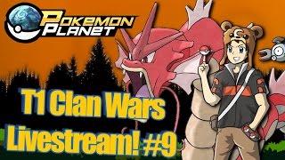 Pokemon Planet - Clan Wars Livestream! #9