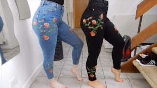 Matching Jeans Haul - Matching With My Bestie ep 2 - Featuring JustJinger