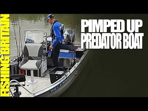 Pimped Up Predator Boat