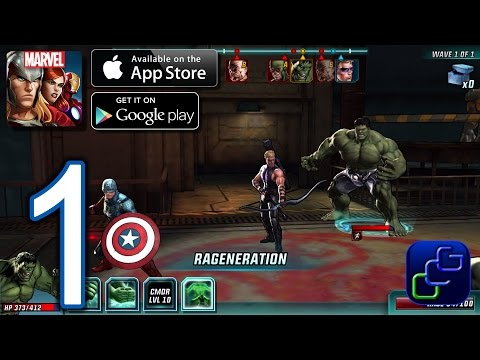 MARVEL: Avengers Alliance 2 Android iOS Walkthrough - Gameplay Part 1